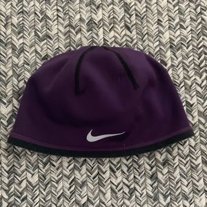 Nike fleece lined Dri fit hat